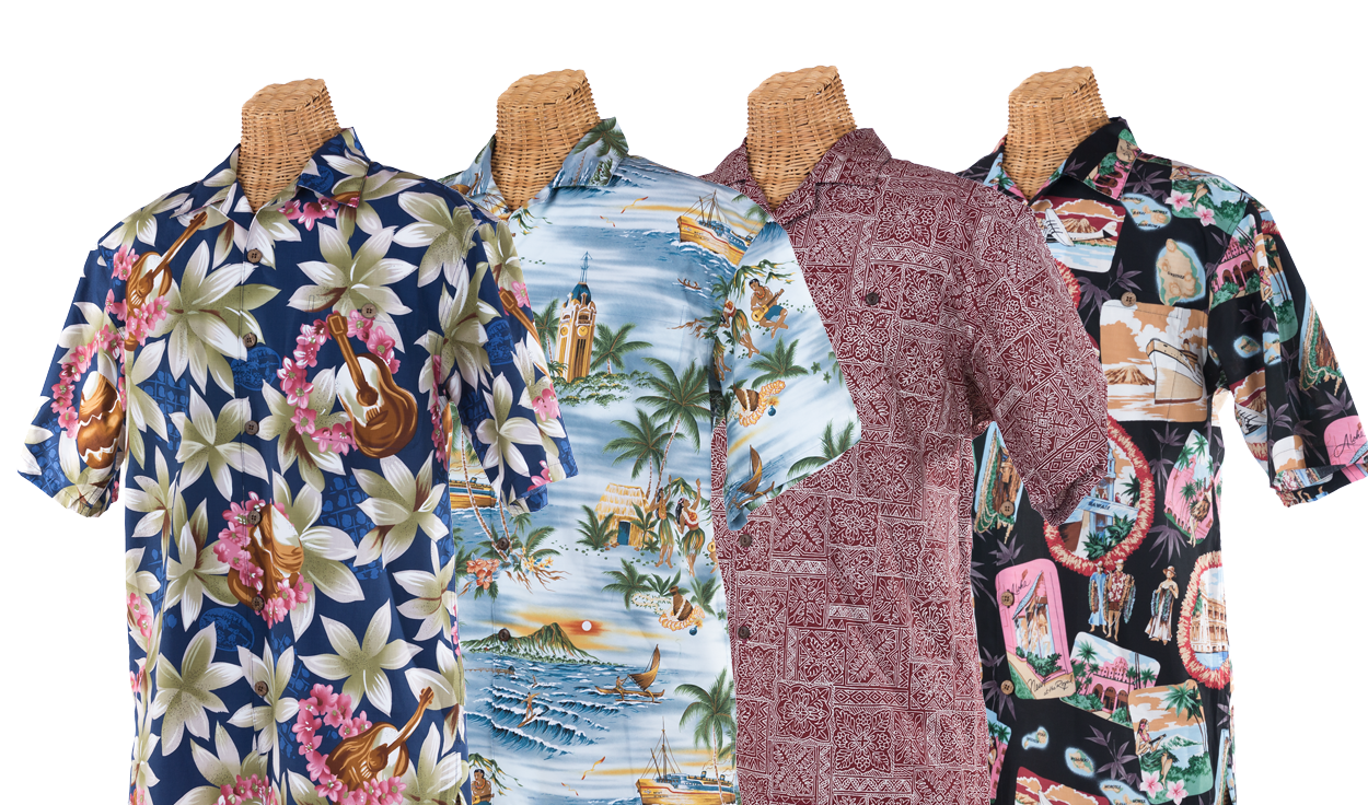 Shop Now For Aloha Shirts & More!