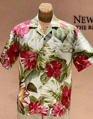 Mid-Century Hawaii Print Cream