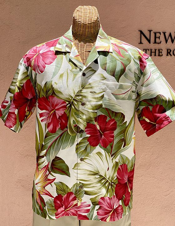 Mid-Century Hawaii Print Cream