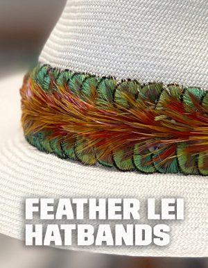 Feather Lei Hatband
